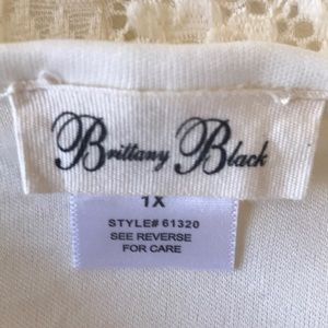 Brittany Black Tops - Brittany Black   Bat Wing Sleeves Woman's Blouse